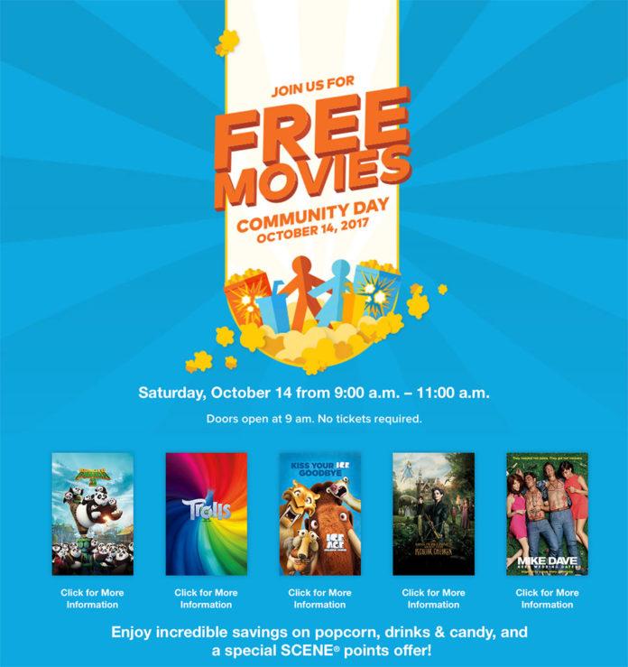 free-movies-community-day