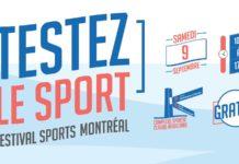 Фестиваль Спорта в Монреале